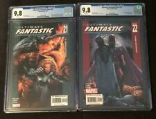 ULTIMATE FANTASTIC FOUR #21 & #22 CGC 9.8 LOT FIRST APPEARANCE MARVEL ZOMBIES
