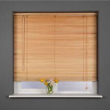 Sunflex 25mm a doghe vero legno veneziana 90cm di larghezza x 160cm finitura naturale