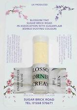 Sugarflair Cornish Cream Blossom Tint Powder, 7ml, Edible Food Colour Dust