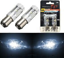 LED Light 30W 2357 White 5000K Two Bulbs Front Turn Signal Replace Upgrade Stock