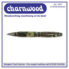 Charnwood penturning pencgm cigare Pen-Gun Metal & Noir (Kit)