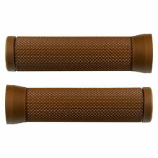 BIKE BROWN HANDLEBAR GRIPS GRIP MTB FIXIE CITY ROAD CYCLE VINTAGE RUBBER PAIR