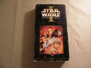Star Wars Episode 1 (Used VHS Tape) Free Domestic Shipping
