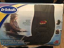 Dr. Scholls Soothing 5 Motor Full Cushion Back Massager w Heat DR8573