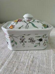 Apilco Porcelain France Pate Dish