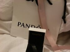 Genuine Pandora Gift Bag With Pink Ribbon And Charm Box
