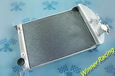 56MM aluminum radiator FOR Ford Car W/Chevy 350 V8 SWAP AUTO AT 1933-1934