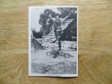 1964 VINTAGE DONRUSS WWII COMBAT TV SHOW GUM CARD # 40 LT. JASON