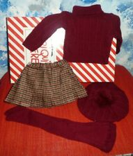 Mariquita Perez Burgundy Winter Outfit *RETIRED **NIB