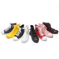 Women Autumn Rain Boots Pvc Shoes Waterproof Rubber Lace Up Ankle Non-Slip Boot