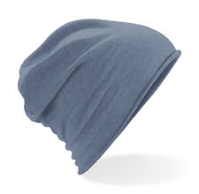 Jersey Beanie Hat Festival Cancer Chemo Alopecia Hair Loss Stretch Cotton Light