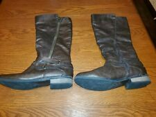 Rampage IDELLA Boots Size 9 Brown