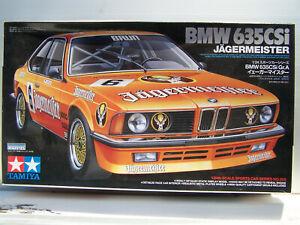 Tamiya BMW 635 CSi Jägermeister 1:24 Scale Art.Nr: 322.2012***RAR***OVP***NOS***
