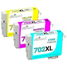702 XL T702XL Remanufactured Epson Ink Cartridges for WorkForce WF-3720 WF-3730