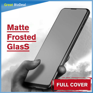 Matte Anti-Fingerprint Frosted Tempered Glass Screen Protector For Xiaomi POCO