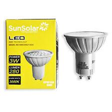 6x 3w LED GU10 SMD High Power Spot Light Energy Saving Bulb Warm White 3000k UK