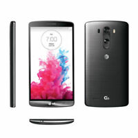 BLACK Unlocked LG G3 D850 32GB 13.0MP Camera - 4G AT&T Android Smartphone 5.5''