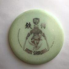 Discmania Iron Samurai Glow Mf C-Line Md3 180g Silver Disc Golf Eagle McMahon