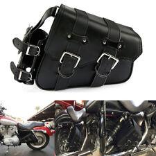 Sacoche Sac Outils Moto Trousse Côté PU Cuir Pour Harley Sporter 2004 UP