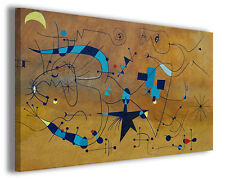 Quadri famosi Joan Mirò vol III Stampa su tela arredo moderno arte design canvas