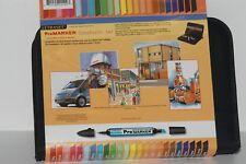 Letraset Pormarker Scholastic PERMANT TWIN TIP 24 set 801199024903
