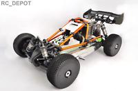 Hyper Nitro Cage Buggy RTR Orange Hobao 1:8 4X4 4WD Gas Rally Car US (RC_DEPOT)
