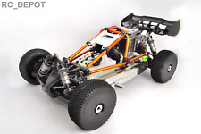Hyper Nitro Cage Buggy RTR Orange Hobao 1:8 4X4 4WD Gas Rally Car US (RC_DEPOT)