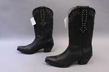 Ariat Women's Heeled Rhinestone Cowgirl Boots MC7 Pitch Black 10010958 Size 11B