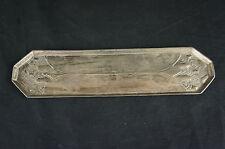 """Superb antique Jugendstil Art Nouveau marked Pewter Tray 10"""" [Y9-W7-A9]"""