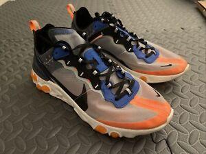 Nike React Element 87 Total Orange Sz 10.5 Rare!