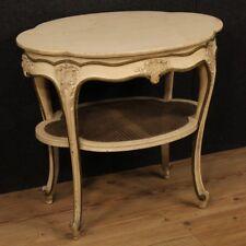 Tavolino in legno laccato mobile tavolo da salotto italiano stile antico 900