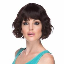 DREW Premium Remy 100% Human Hair Wig Wave Chin Length BOB With Bang