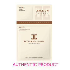 Jayjun Collagen Aqua Brightening Skin Fit Mask 10PCS, US SELLER! Free Gifts!