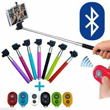 Rotatable Selfie Handheld Stick Bluetooth Monopod Extendable For iPhone-Samsung