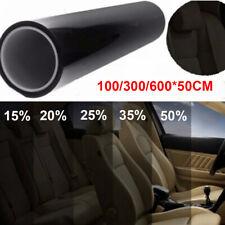 Car Window Glass Sticker Sunshade Film Solar UV Protector Foils 600*50cm