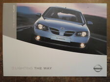 NISSAN ALMERA FLARE orig 2003 UK Mkt Sales Brochure