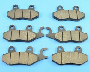 Composite Front Rear Brake Pads for Can-Am Commander 1000 2011-2017