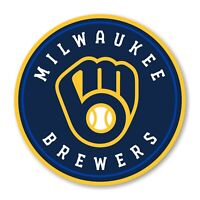 Milwaukee Brewers New 2019 Round  Precision Cut Decal / Sticker