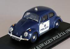 RARE!! VOLKSWAGEN Käfer / Beetle Polizei / Police - Portuguese 1:43 IXO