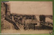 CARTE POSTALE DÉPARTEMENT 95 - PONTOISE REMPARTS ET TOUR 1908 - VAL-D'OISE - CPA