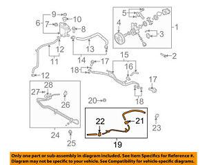 MAZDA OEM 07-15 CX-9 Pump Hoses-Steering-Cooler Line TD1132410B