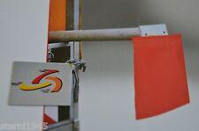 1 x Warnfahne Warnflagge Endfahne Schlussfahne rot 30 x 30 cm Ladungssicherung