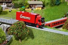 """FALLER CAR-système HO 161584 Camion MB sk """"Emons-transporteur"""" (HERPA) NEUF"""