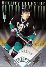 1996-97 Leaf Preferred Steel Power #11 Paul Kariya