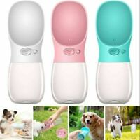 US STOCK Dog Water Bottle Bowl Pet Cup Drinking Travel Outdoor Portable Feeder