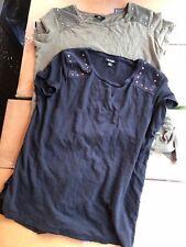 2x A.N.A. Womens Medium Tshirt Lot Excellent