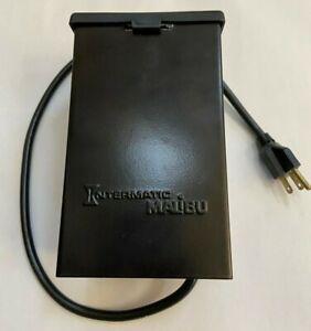 Malibu Intermatic Timer LV371T Low Voltage Transformer Landscape lighting. 12v