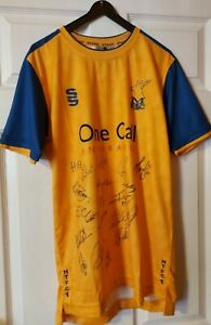 SIGNED Mansfield Town Shirt