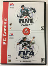 EA SPORTS NHL 2001 & FIFA 2001 (PC, 2000) CD ROM Windows 95/98
