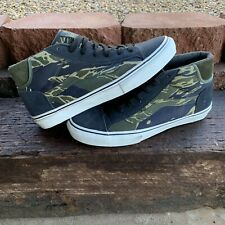 Vans Syndicate x Defcon Mid Skool Jungle Camo NEW Size 8.5 Vault Supreme